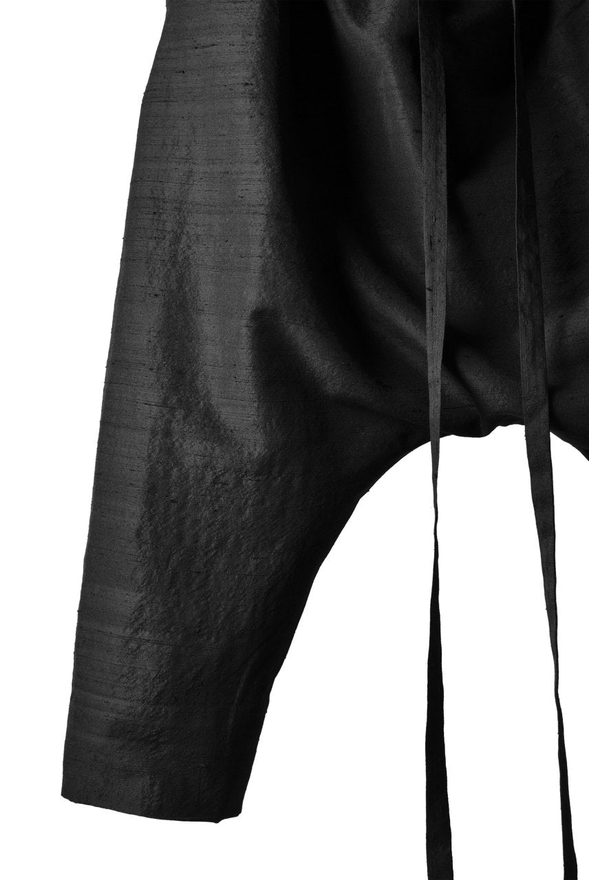 SOSNOVSKA TAPES SILK PANTS (BLACK)