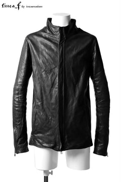Load image into Gallery viewer, linea_f by incarnation 0.7/0.8mm Sheep Leather Jacket