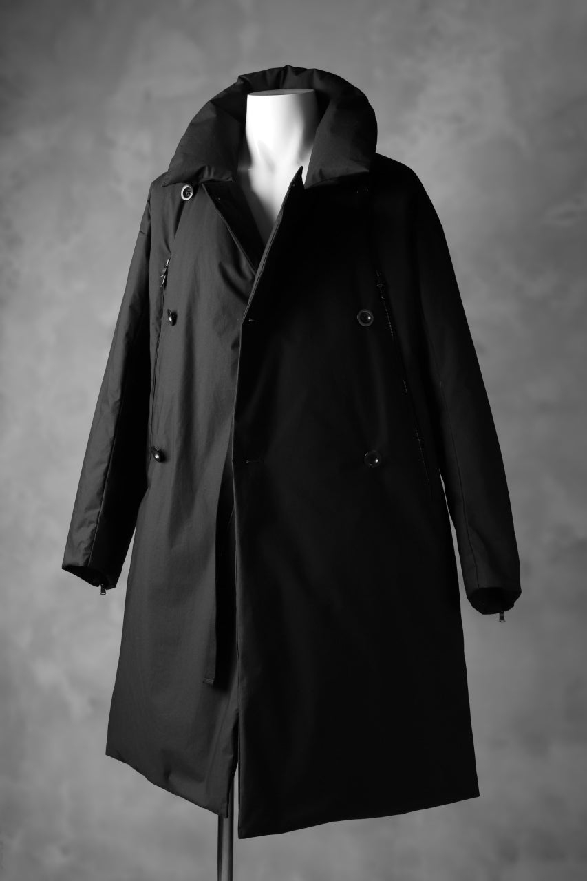 The Viridi-anne DOWN COAT / WATER-REPELLENT COTTON CLOTH