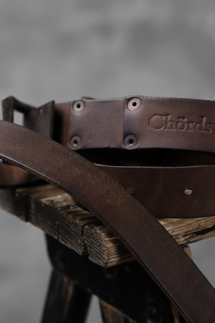 Chörds; PLATES NARROW BELT / HORSE BUTT (One Make)