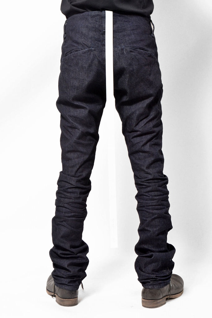 N/07 denim  pant 3dimention / rinsed (INDIGO)
