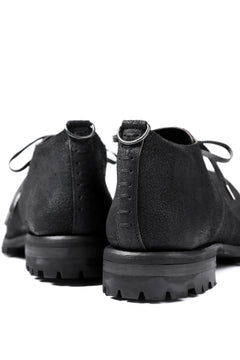画像をギャラリービューアに読み込む, Portaille exclusive VB Derby Shoes (Reversed Horse Iron Dyed / BLACK)