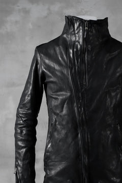 画像をギャラリービューアに読み込む, incarnation exclusive DUALFACE ZIP JACKET OBJECT DYE/TANNED HORSE (BLACK)
