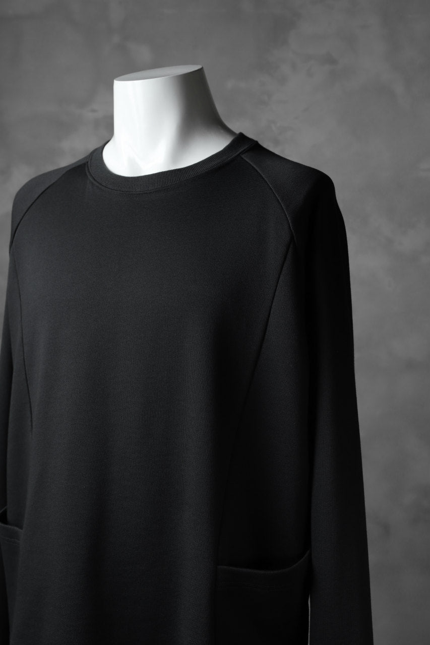 The Viridi-anne LAYERED PULL OVER SHIRT / ORGANIC SILKET COTTON
