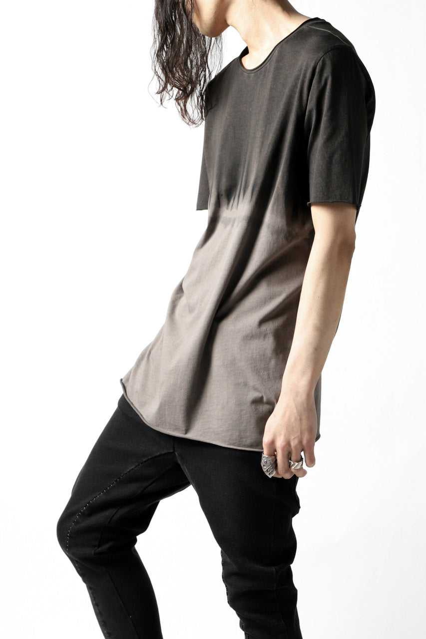 thomkrom GRADATION DYE T-SHIRT (SAND T90)
