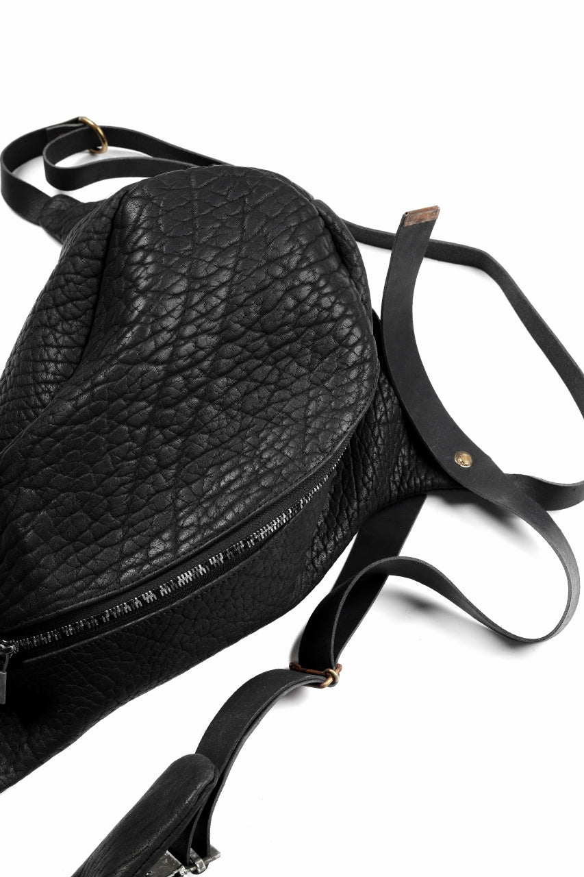 ierib Harness One Shoulder Bag / Rough Bull (BLACK)