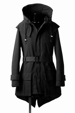 DEFORMATER.® FLAPPED MODS COAT / EXTRA WARM EDITION (BLACK)
