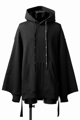 DEFORMATER.® CUTTING EDGE HOODIE / FLEECY HEAT COTTON (BLACK)