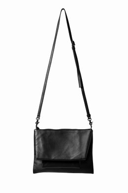 discord Yohji Yamamoto TRIPLE CLUTCH SHOULDER BAG (BLACK)