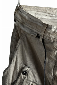 画像をギャラリービューアに読み込む, RUNDHOLZ DIP DEEP CROTCH GATHERING SHORTS (UMBRA)