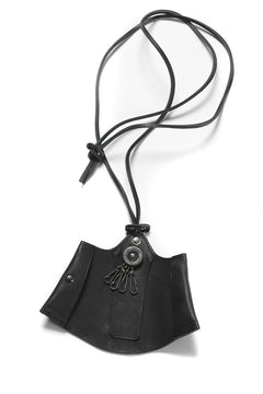 "画像をギャラリービューアに読み込む, Portaille ""Atelier Made"" exclusive NECK KEY CASE / PUEBLO by Badalassi Carlo (BLACK)"