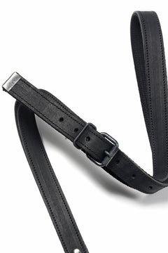 "画像をギャラリービューアに読み込む, Portaille ""Atelier Made"" exclusive NECK STRAP / PUEBLO by Badalassi Carlo (BLACK)"
