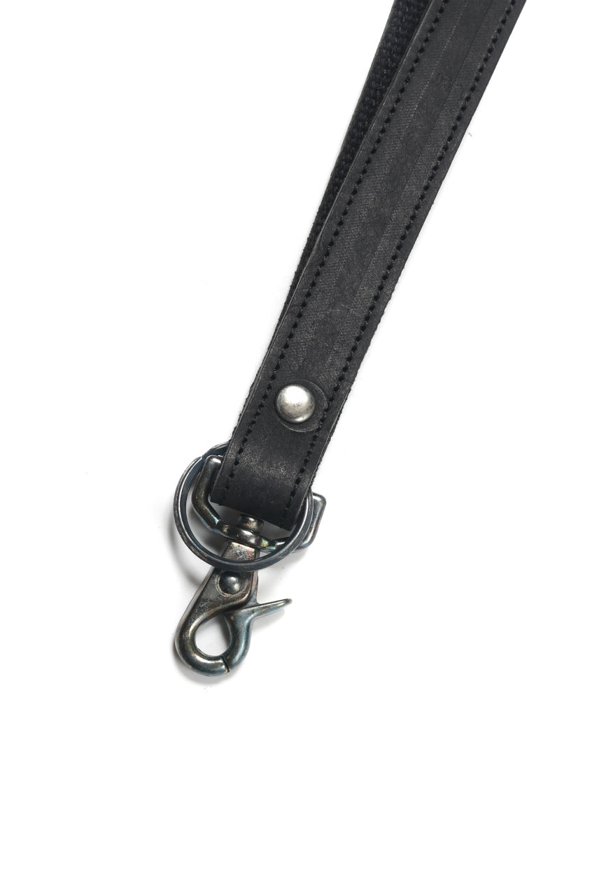 "Portaille ""Atelier Made"" exclusive NECK STRAP / PUEBLO by Badalassi Carlo (BLACK)"