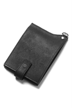 "画像をギャラリービューアに読み込む, Portaille ""Atelier Made"" exclusive BI-FOLD WALLET / PUEBLO by Badalassi Carlo (BLACK)"