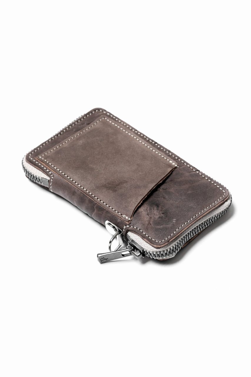 "Portaille ""Limited Made"" ZIP KEY CASE / Culatta Reverse (BROWN)"