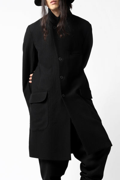 Hannibal. Romeo Long Tailor Coat (COAL BLACK)