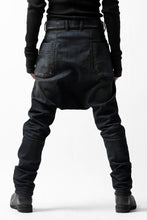 Load image into Gallery viewer, ISAMU KATAYAMA BACKLASH SARROUEL PANTS / HIGH POWER STRETCH DENIM (INDIGO)