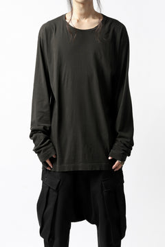 画像をギャラリービューアに読み込む, RUNDHOLZ DIP LONG SLEEVE CUT SEWN (PINE*DARK KHAKI)
