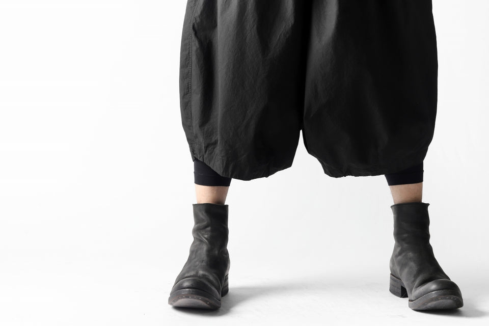 画像をギャラリービューアに読み込む, RUNDHOLZ DIP DROPCROTCH WIDE SHORTS / DYED C-CLOTH (BLACK)
