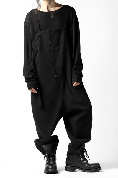 SOSNOVSKA exclusive VOLUMETRIC WARM OVERALL / WOOL & CASHMERE (CHARCOAL)