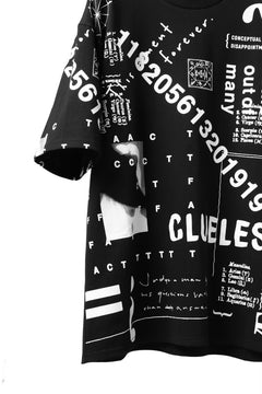 "画像をギャラリービューアに読み込む, A.F ARTEFACT ""TOTAL PATTERN PRINT"" OVER SIZED TOPS (BLACK)"