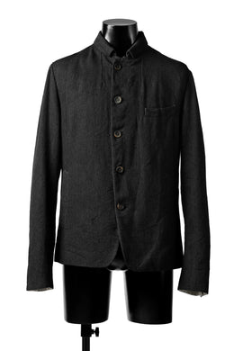 forme d'expression 5B Cropped Jacket (Off Black)