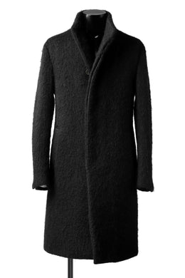 forme d'expression High Neck Warm Coat (Black)