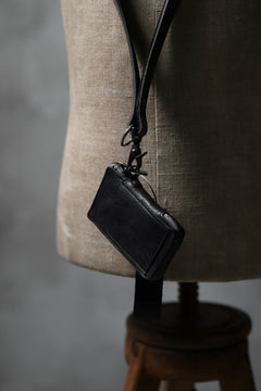 "画像をギャラリービューアに読み込む, Portaille ""Limited Made"" ZIP KEY CASE / Italy Vachetta (BLACK)"