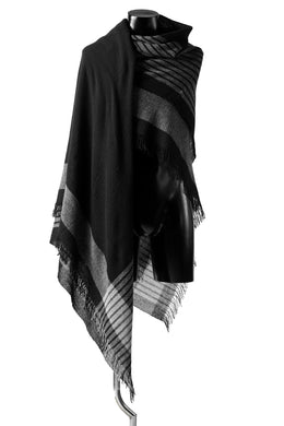 forme d'expression Mambo Graphic Plaid Stole (Mono)