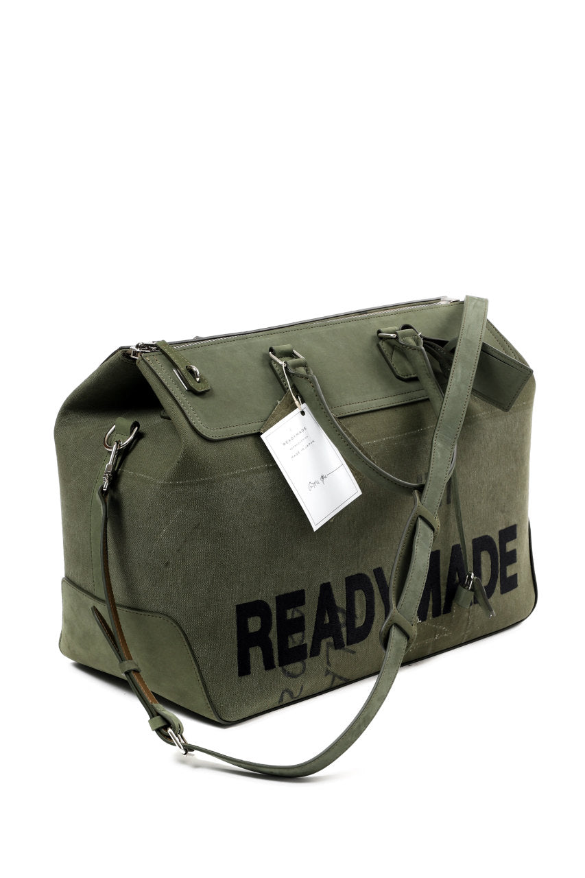 READYMADE GYM BAG LARGE (KHAKI #A)