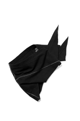 thomkrom JERSEY MASK / BANDANA (BLACK)
