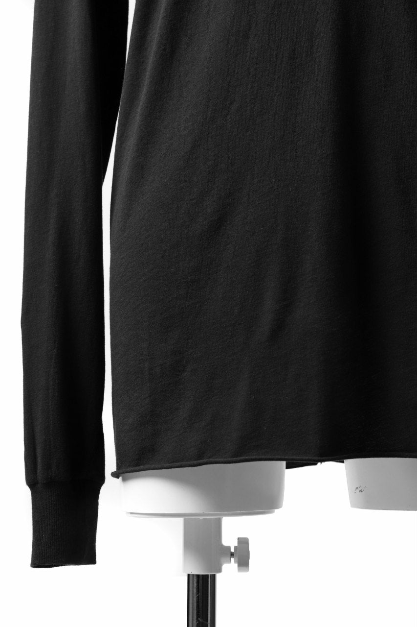 "11 BY BORIS BIDJAN SABERI LONG SLEEVE ""LS1B-F-1101"" (BLACK DYE)"