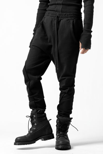 Nostra Santissima SLIM STRETCH SWEAT PANTS (BLACK)
