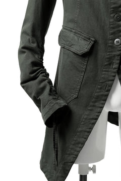 Load image into Gallery viewer, Pxxx OFF by PAL OFFNER PINGUIN JACKET / STRETCH DENIM (MOSS*KHAKI)