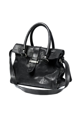 incarnation CALF LEATHER 2WAY WORKER SHOULDER BAG (BLACK)