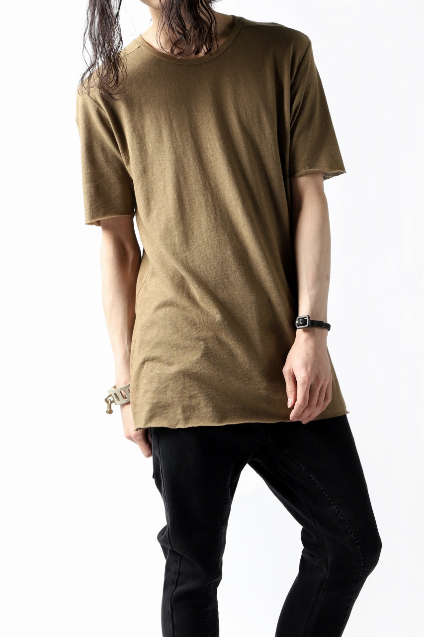 thomkrom CROSS BACK T-SHIRT (HONEY)