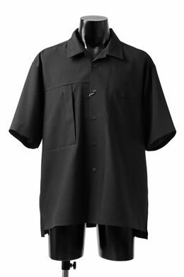 F/CE.® x GRAMiCCi PERFORMANCE LINE / SEAMLESS OPEN SHIRT (BLACK)