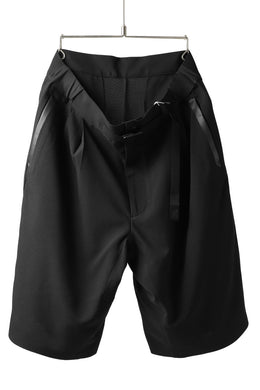 F/CE.® x GRAMiCCi PERFORMANCE LINE / SEAMLESS BAGGIE SHORTS (BLACK)