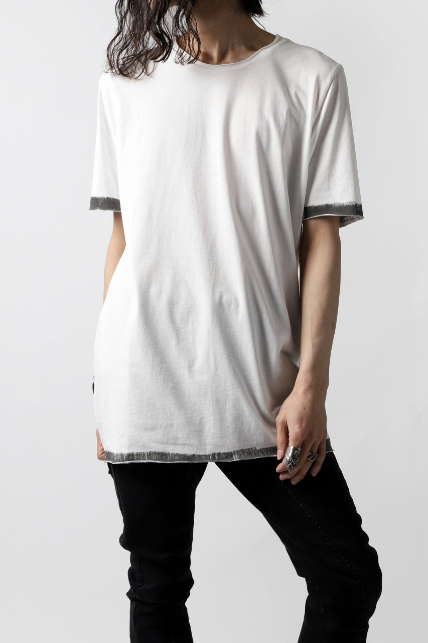 Load image into Gallery viewer, thomkrom BRUSH PAINT END T-SHIRT (OFF WHITE)
