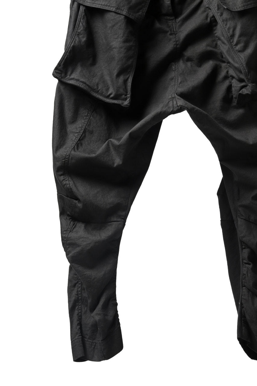 RUNDHOLZ DIP DROPCROTCH TACTICAL TROUSERS (BLACK)
