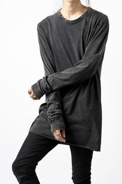 "画像をギャラリービューアに読み込む, 11 BY BORIS BIDJAN SABERI LONG SLEEVE ""LS1B-F-1101"" (DARK PUNK GREY)"