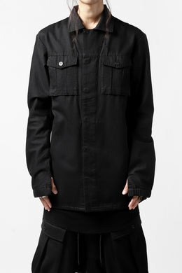 11 BY BORIS BIDJAN SABERI SHIRT JACKET