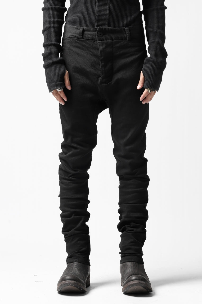 "Load image into Gallery viewer, 11 BY BORIS BIDJAN SABERI SLIM PANT ""P2B-F1451"" (STRETCH DENIM / BLACK DYE)"