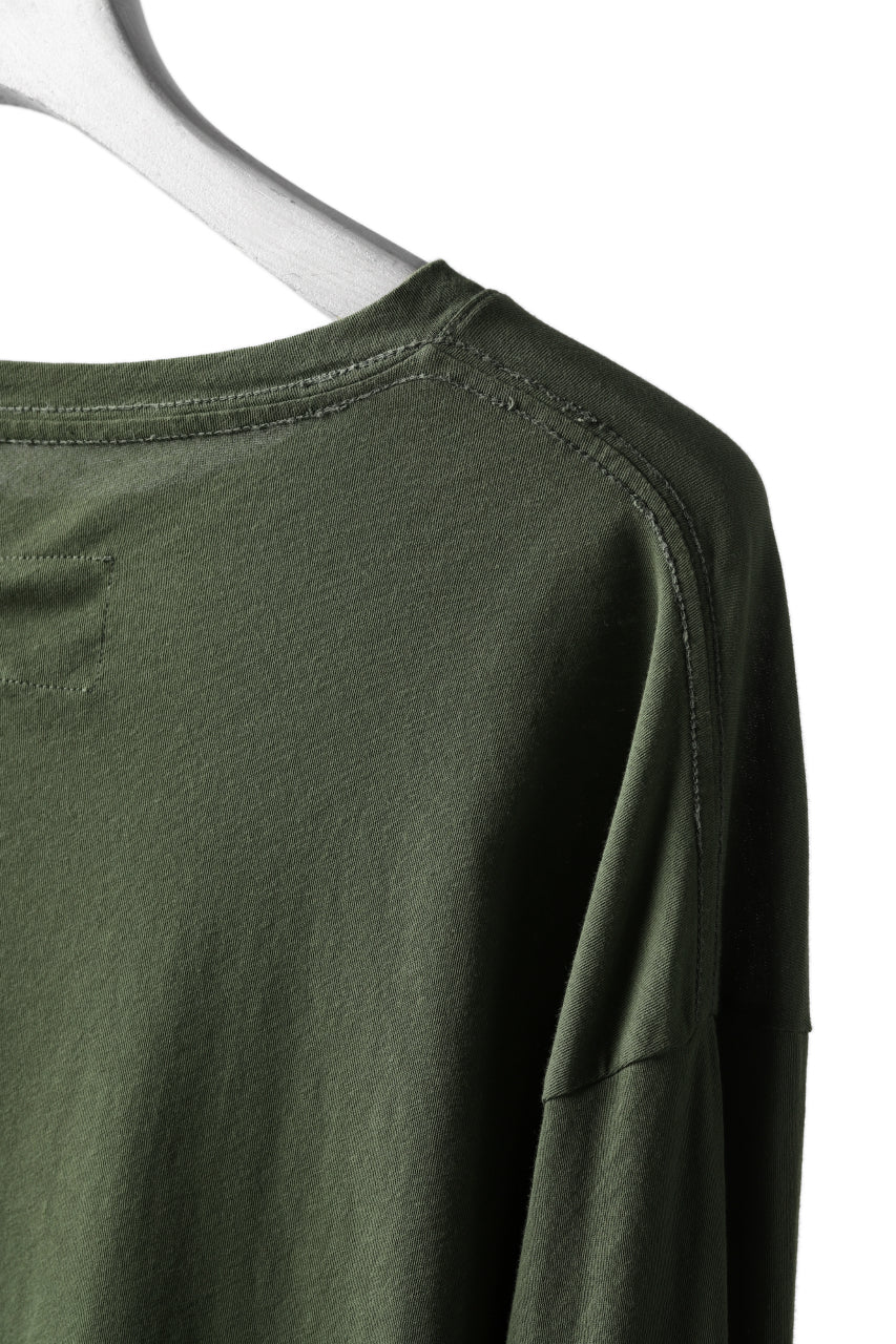 画像をギャラリービューアに読み込む, RUNDHOLZ DIP LONG SLEEVE CUT SEWN (MOSS*KHAKI GREEN)
