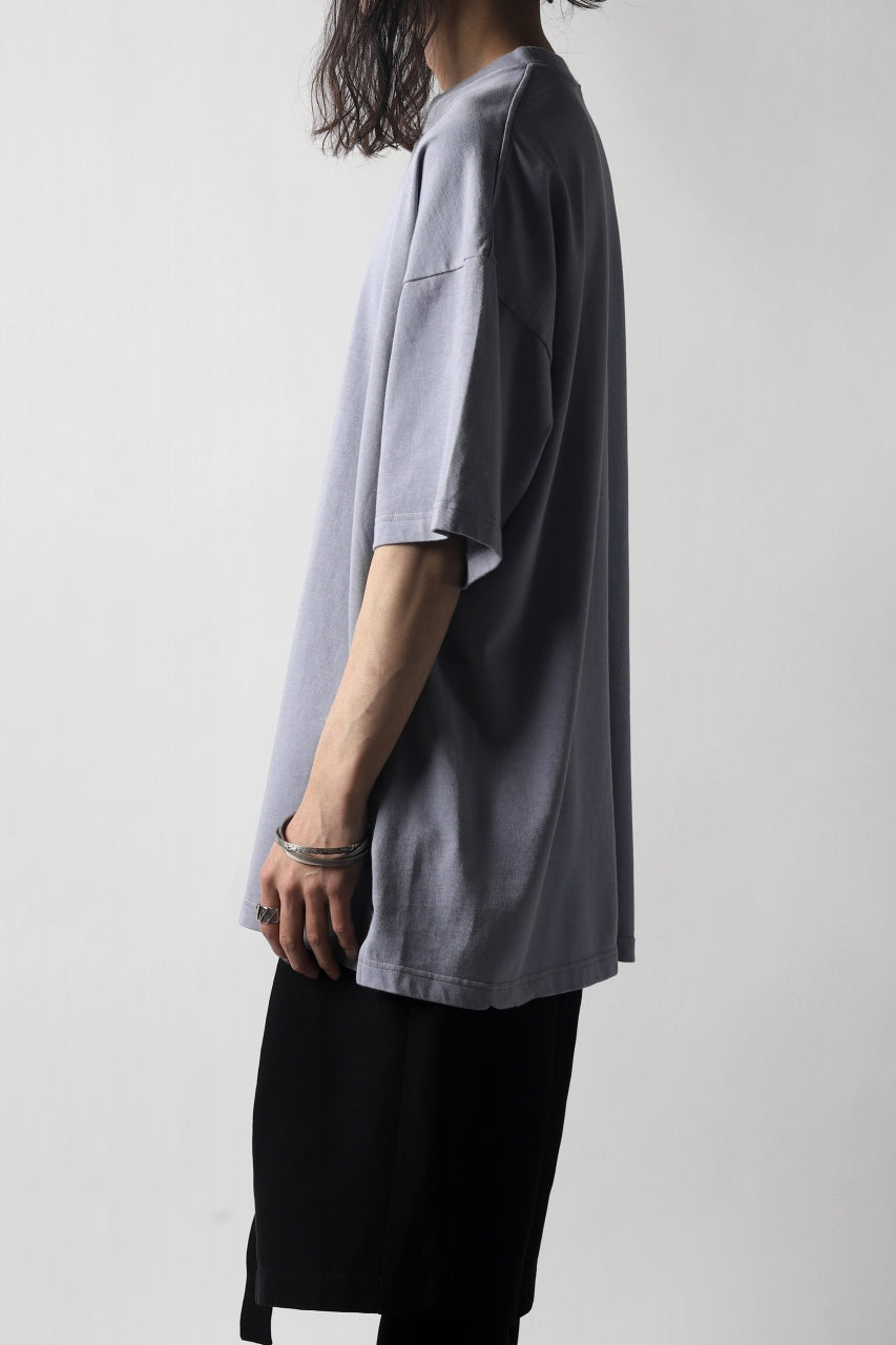 KAZUYUKI KUMAGAI CREW-NECK LOOSEFIT T-SHIRT (LIGHT PURPLE)