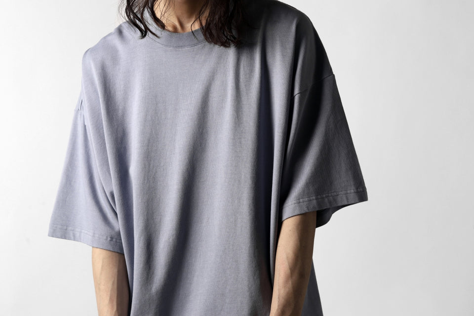 画像をギャラリービューアに読み込む, KAZUYUKI KUMAGAI CREW-NECK LOOSEFIT T-SHIRT (LIGHT PURPLE)
