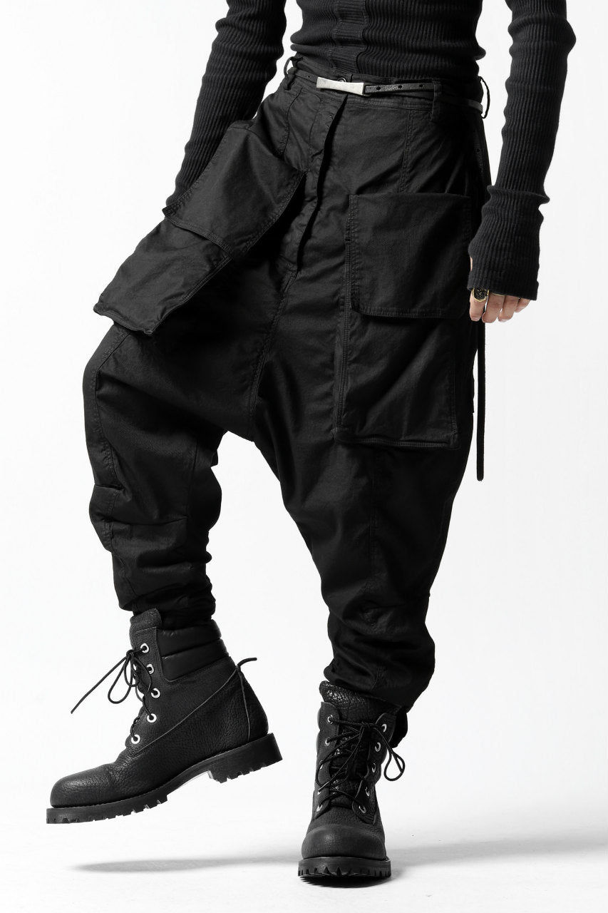 画像をギャラリービューアに読み込む, RUNDHOLZ DIP DROPCROTCH TACTICAL TROUSERS (BLACK)