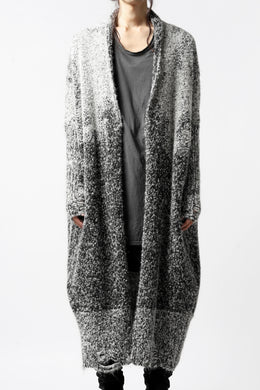 thomkrom RELAX LONG KNIT CARDIGAN/ ALPACA (MELANGE)