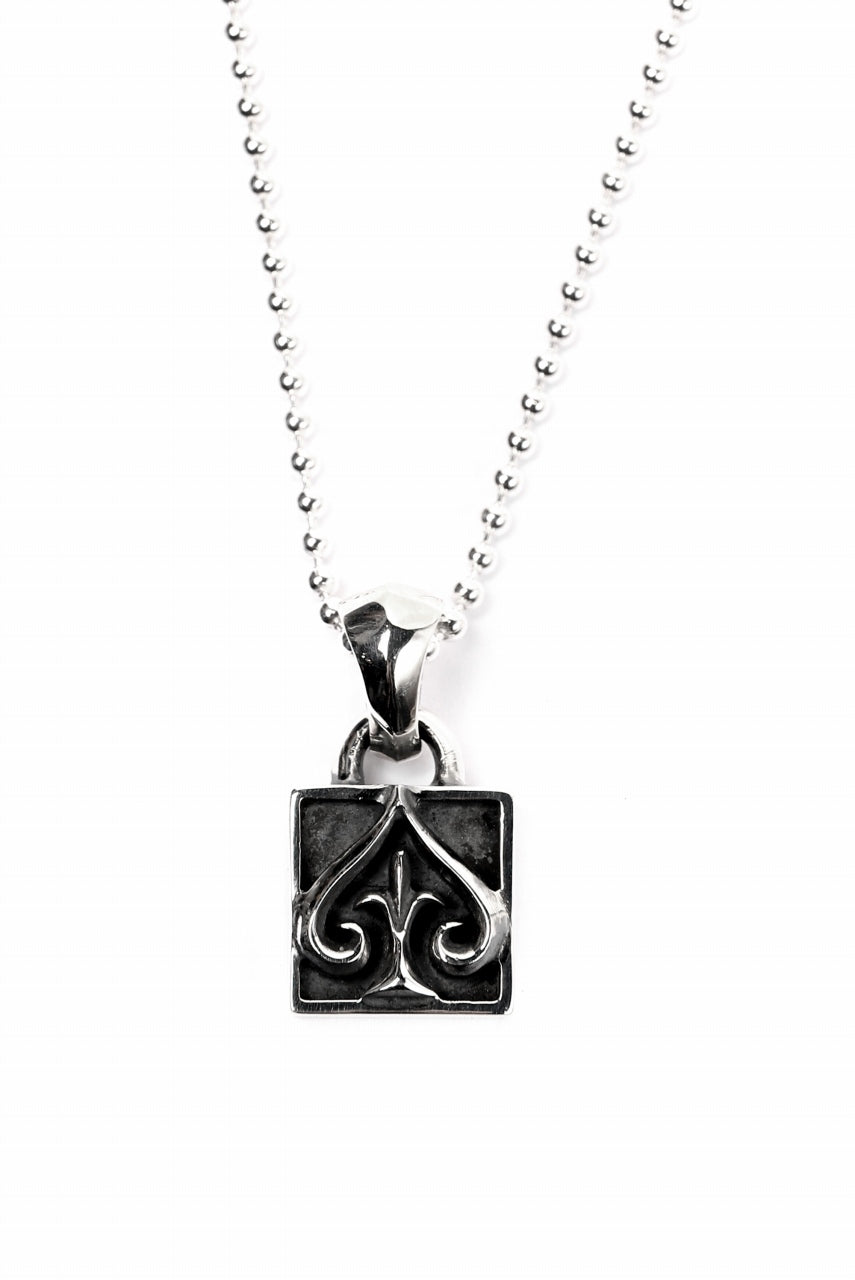 "Loud Style Design - GET IN THE RING ""ACE BOX"" SILVER PENDANT"
