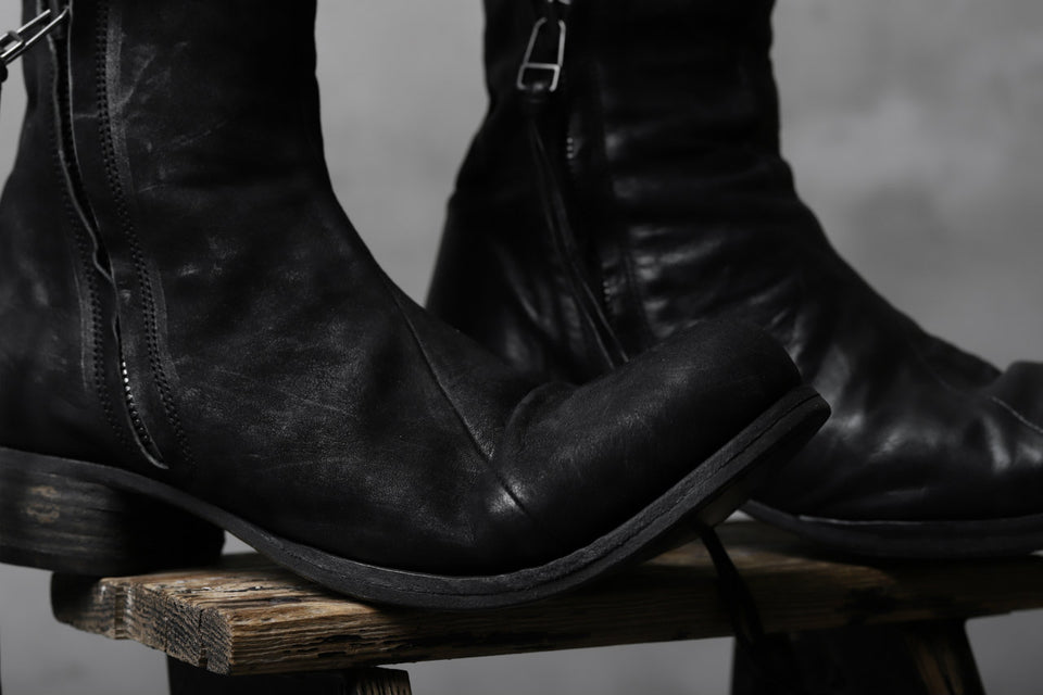画像をギャラリービューアに読み込む, Portaille exclusive PL20 Layered Zip Boots (BANDOLERO / BLACK)